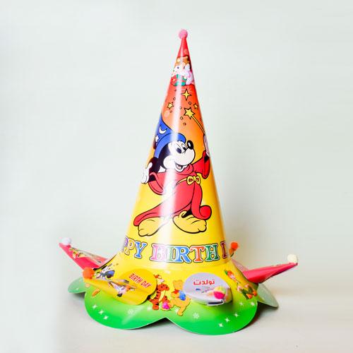 تولد میکی موس1 1 - آموزش تصویری ساخت کلاه تولد زیبا برای فرزندان عزیز