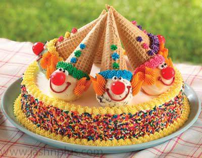 تولد خامه ای ۱۲ - کیک تولد خامه ای یک انتخاب جالب برای جشن تولد