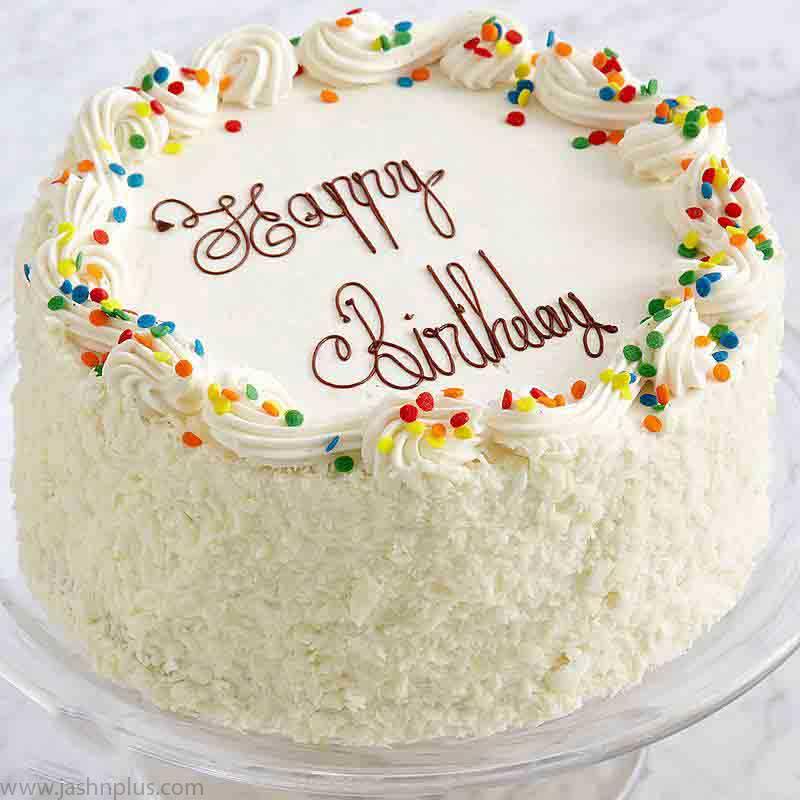 تولد خامه ای ۶ - کیک تولد خامه ای یک انتخاب جالب برای جشن تولد