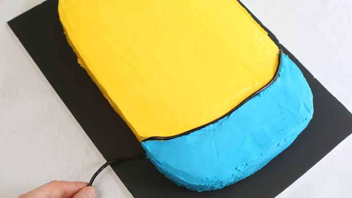 تولد مینیون 10 - آموزش گام به گام تزیین کیک مینیون در منزل
