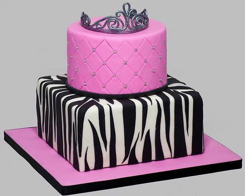 تولد پرنسسی 11 - کیک تولد مدل پرنسسی برای تولدهای دخترانه