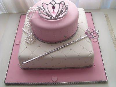 تولد پرنسسی 5 1 - کیک تولد مدل پرنسسی برای تولدهای دخترانه