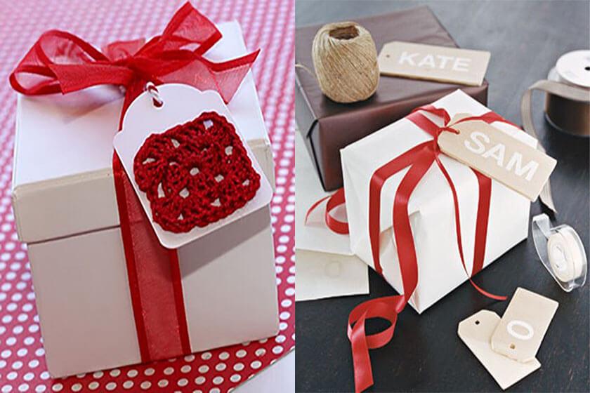 روش ساده برای تزیین جعبه های کادو DIY - تزیین جعبه های هدیه با 14 روش خلاقانه