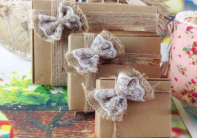 روش ساده برای تزیین جعبه های کادو bow - تزیین جعبه های هدیه با 14 روش خلاقانه