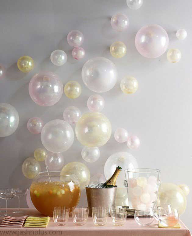 1188 630x775 - ایدههای خلاقانه برای تزیین جشنهای تولد با بادکنک رنگی
