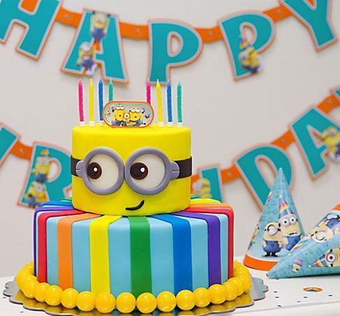 27e59205a390c5b3624559e4f0be071e - کیک تولد مینیون مخصوص تولد کودک