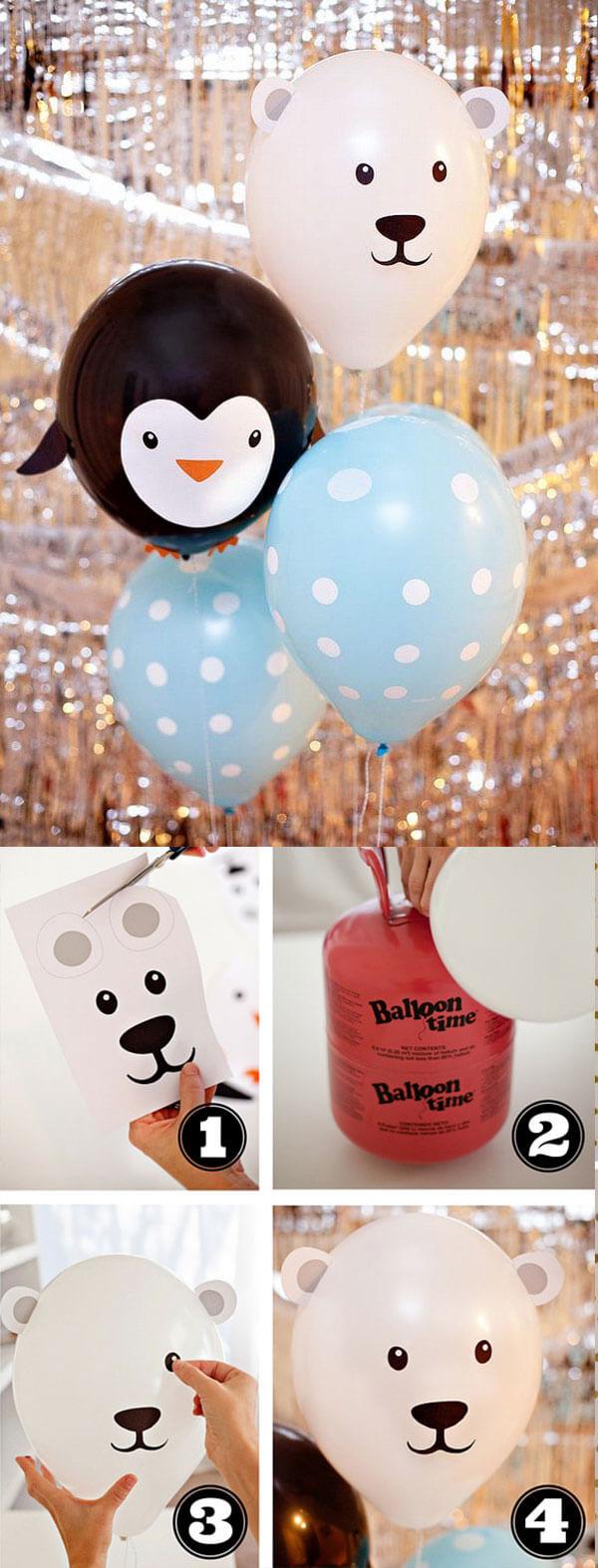 33 balloon decoration ideas - بادکنک آرایی کودکانه جذاب