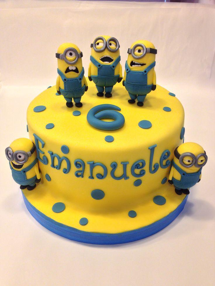 3d228ff9e09a2269910434ac8304b837 - کیک تولد مینیون مخصوص تولد کودک
