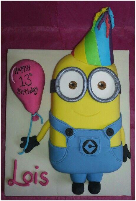 4f4dd88200d968fae71b1bef5b08df45 - کیک تولد مینیون مخصوص تولد کودک