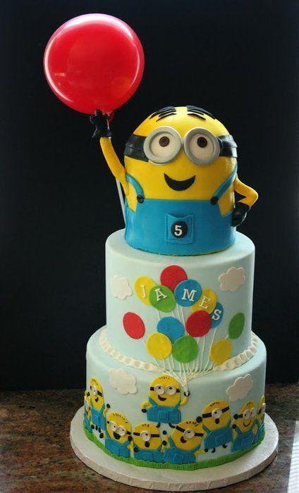 79e63e228b9f6e64e8fe1c4e2d87ada6 - کیک تولد مینیون مخصوص تولد کودک