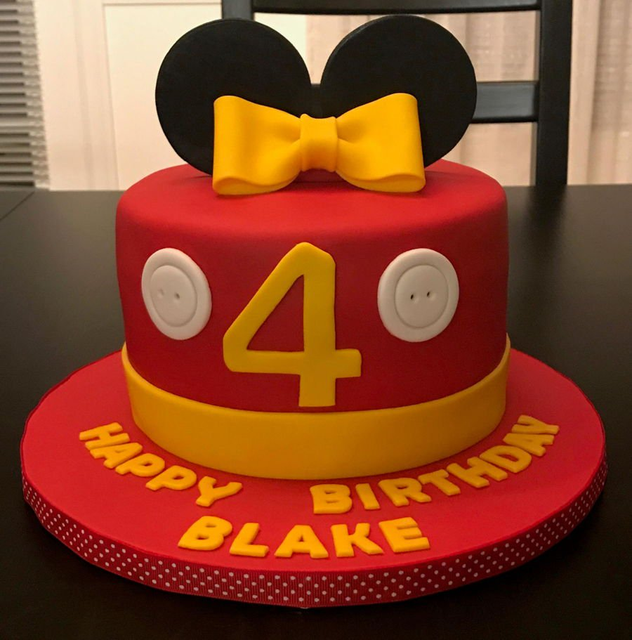 900 mickey and minnie birthday cakes 995665PYS4L - کیک تولد با تم کودکانه