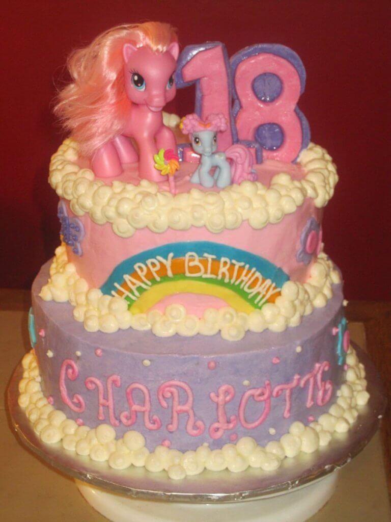 900 my little pony 697452jw4z4 768x1024 - کیک تولد با تم کودکانه