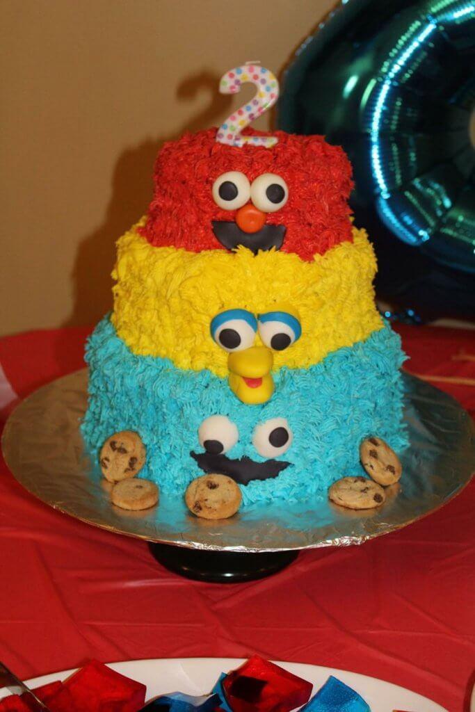 900 sesame street 6974525ZXdm 683x1024 - کیک تولد با تم کودکانه