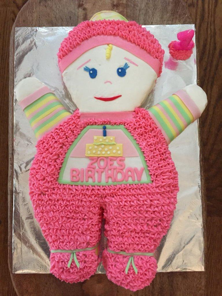 900 zoes 1st birthday 718233SMaWj 768x1024 - کیک تولد با تم کودکانه