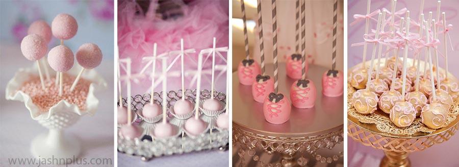 Pembe Tütü Balerin Temalı Doğum Günü Partisi 11 - جشن تولد صورتی برای دختران