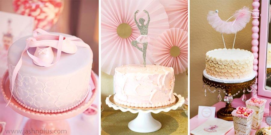 Pembe Tütü Balerin Temalı Doğum Günü Partisi 15 - جشن تولد صورتی برای دختران
