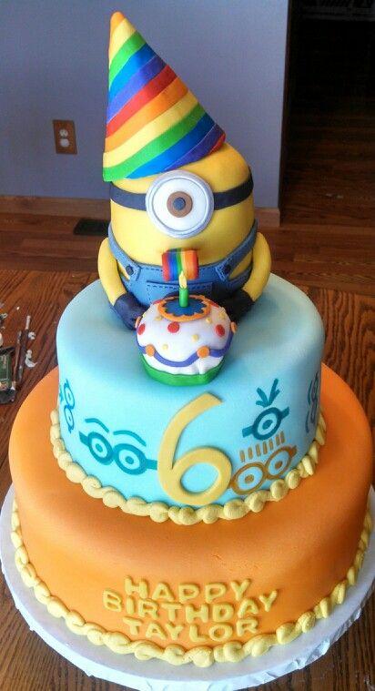 a522c81e7770e68e044251fb4d8e9a42 - کیک تولد مینیون مخصوص تولد کودک