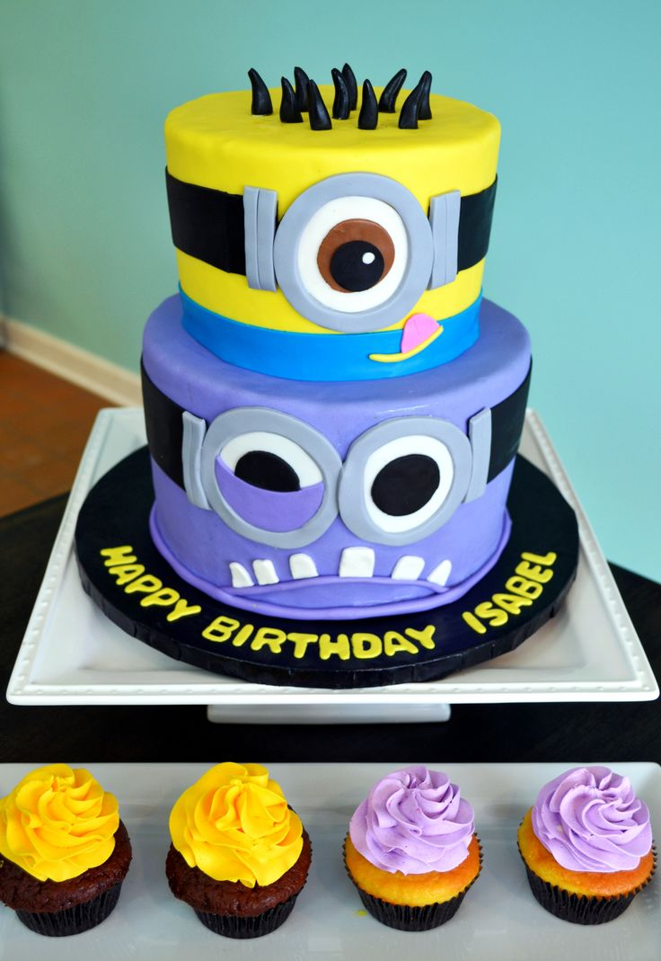 b1cfc259984265cdd3759f366b0da68d - کیک تولد مینیون مخصوص تولد کودک