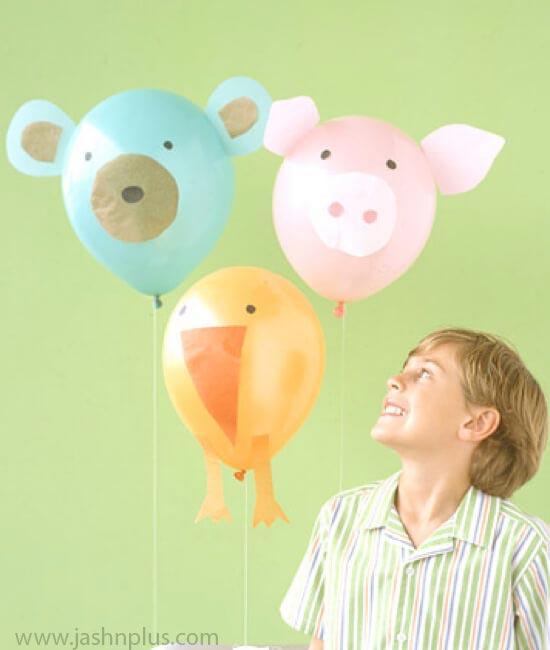 balloon decoration ideas for kids party.001 - بادکنک آرایی کودکانه جذاب