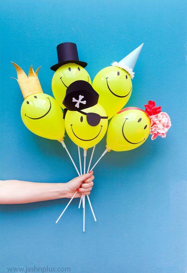 diy balloon project ideas 25 - بادکنک آرایی کودکانه جذاب
