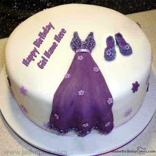 dress birthday cakes for girlsa8a4 - مدل های زیبای کیک تولد دخترانه برای دختر خانم های ایرانی