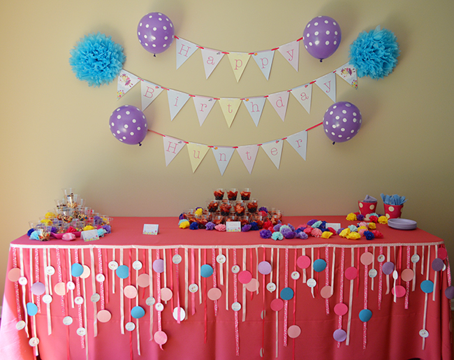 fairy party 1 - جشن تولد یک سالگی پرنسسها و ایده هایی برای جشن تولد