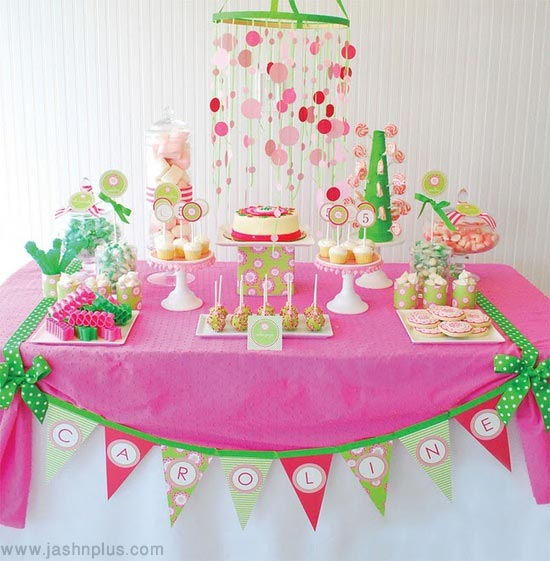 first birthday decoration first birthday decoration ideas for girls  - جشن تولد یک سالگی پرنسسها و ایده هایی برای جشن تولد