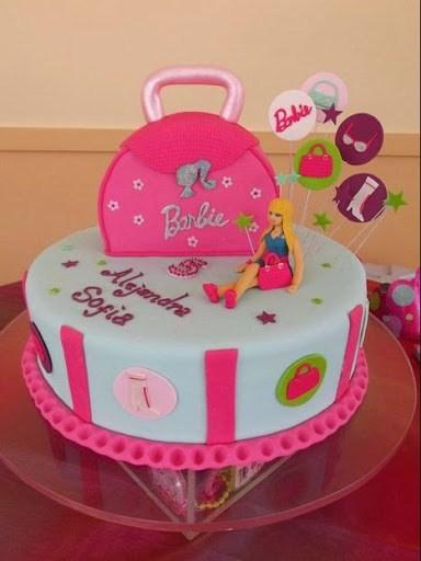 r1 - انواع کیک تولد باربی برای دختر خانمهای ایرانی