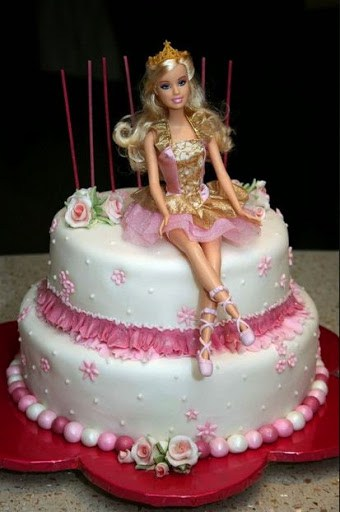r4 - انواع کیک تولد باربی برای دختر خانمهای ایرانی