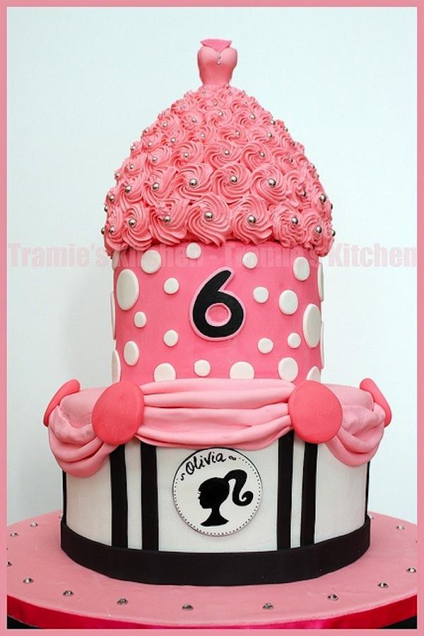 r8 - انواع کیک تولد باربی برای دختر خانمهای ایرانی