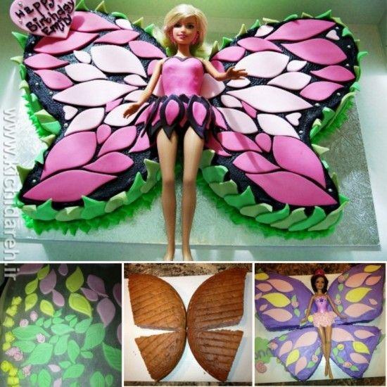 3m8d99p63d2t0dc - ایده تم تولد پروانه برای دختر خانم ها