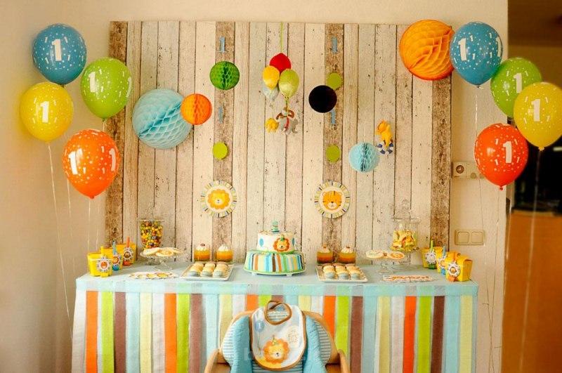 Birthday room 71 - ایده های تزئین جشن تولد کودکان