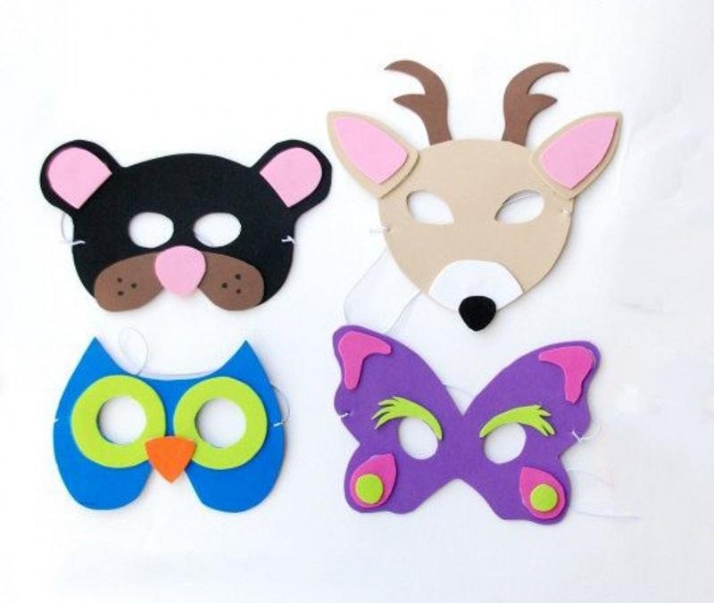 Making animal masks 13 - تم تولد حیوانات جنگل