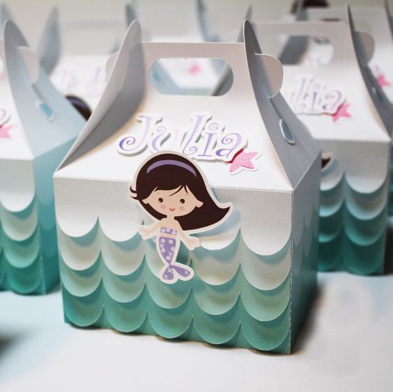 تولد پری دریایی 19 - تم تولد پری دریایی برای دختر خانوم های رویایی