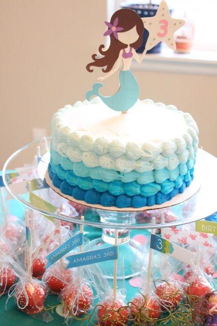 تولد پری دریایی 32 - تم تولد پری دریایی برای دختر خانوم های رویایی