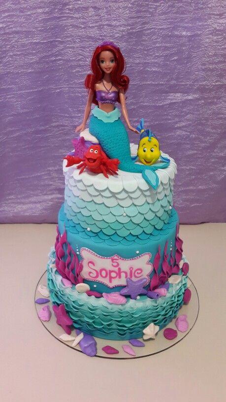 تولد پری دریایی 40 - تم تولد پری دریایی برای دختر خانوم های رویایی