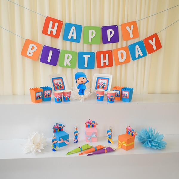 پوکویو 5 1 - تم تولد پوکویو جشن تولدی خاص و بینظیر برای فرزند شما