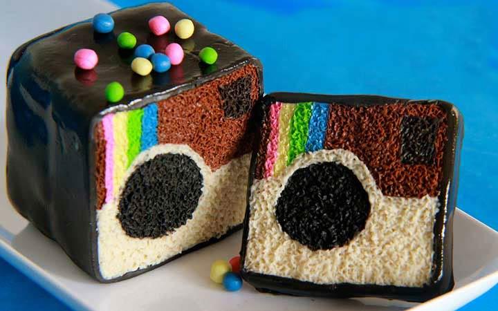 کیک از اینستاگرام و تلگرام 1 - انتخاب کیک تولد ، بهترین کیک برای شما کدام کیک است ؟