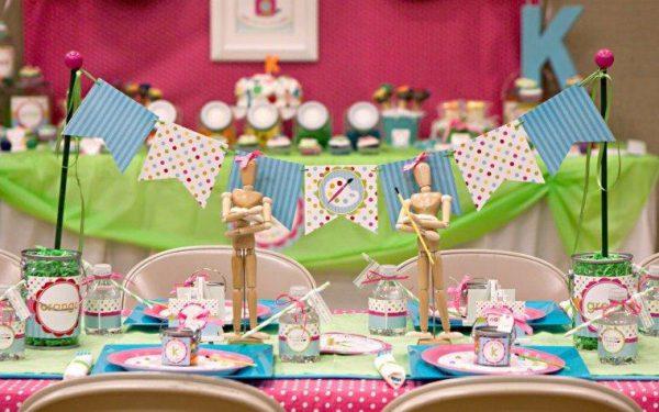 میز تولد 1 28 600x375 - دیزاین میز تولد ، ایده هایی زیبا برای ساخت میزهای زیبا