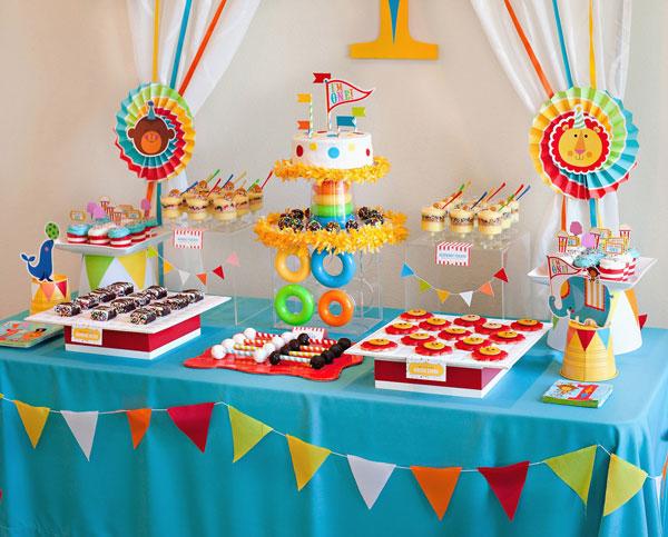 میز تولد 1 7 - دیزاین میز تولد ، ایده هایی زیبا برای ساخت میزهای زیبا