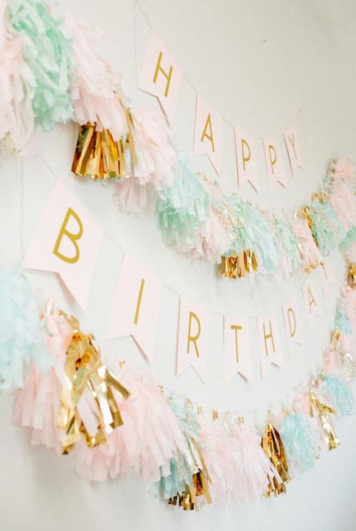 فویل کاغذی ۱ - ریسه تولد ، زیبایی جشنتان را تکمیل کنید