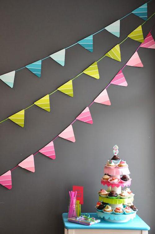 مثلثی ۳ - ریسه تولد ، زیبایی جشنتان را تکمیل کنید