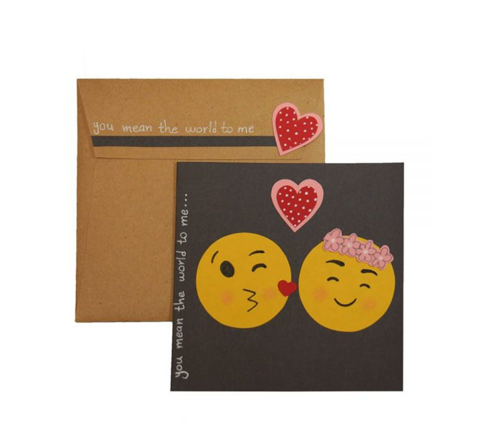 Handmade Greeting Card Emoji Design e1563562156200 - تم تولد ایموجی تمی هیجان انگیز برای بزرگ ترها