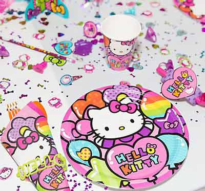 hello kitty birthday party theme23 - تم تولد کیتی تمی دوست داشتنی برای دختر خانوم ها