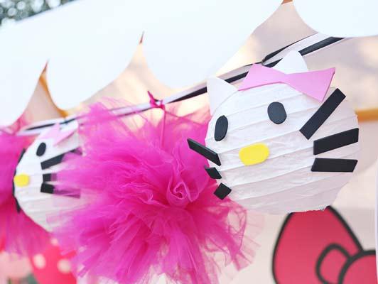 hello kitty birthday party theme3 - تم تولد کیتی تمی دوست داشتنی برای دختر خانوم ها