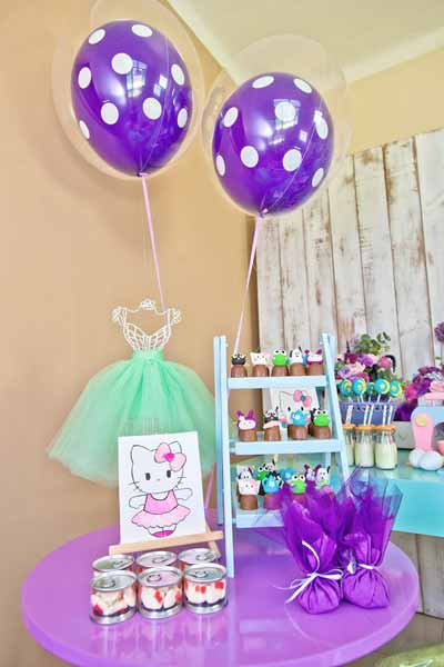 hello kitty birthday party theme41 - تم تولد کیتی تمی دوست داشتنی برای دختر خانوم ها