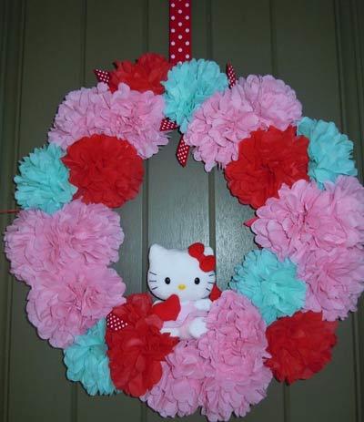 hello kitty birthday party theme46 - تم تولد کیتی تمی دوست داشتنی برای دختر خانوم ها