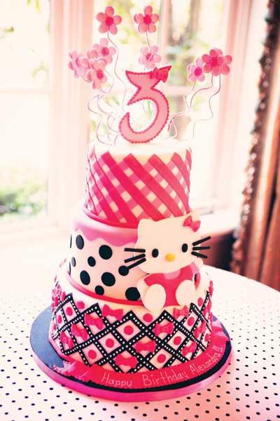 hello kitty birthday party theme52 - تم تولد کیتی تمی دوست داشتنی برای دختر خانوم ها