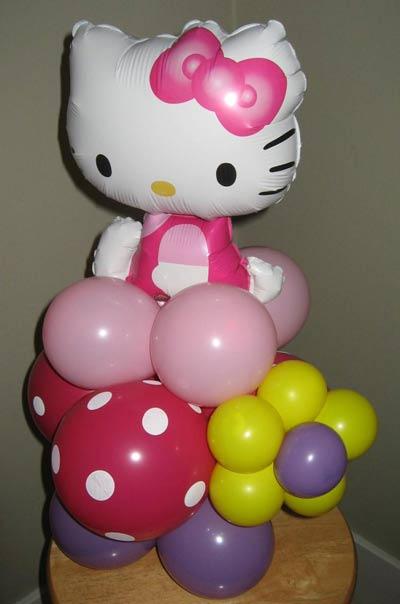 hello kitty birthday party theme58 - تم تولد کیتی تمی دوست داشتنی برای دختر خانوم ها