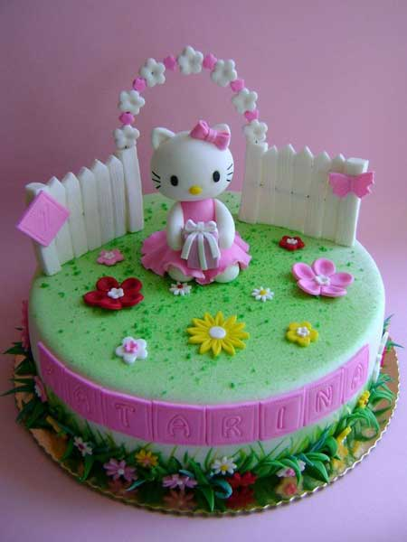 hello kitty birthday party theme68 - تم تولد کیتی تمی دوست داشتنی برای دختر خانوم ها